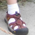 My beautiful sandal is lost