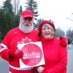 Santa and Mrs. Claus believe in Canada