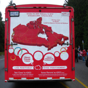 Olympic Torch 2010 Canada Route