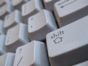 Shift Key on Keyboard