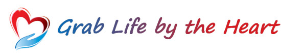 Grab Life by the Heart Logo