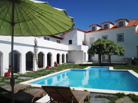 New swimming pool at Casa dos Arcos